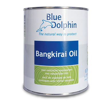 Bangkirai Blue Dolphin Olie